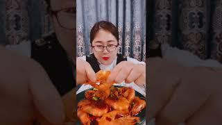 Seafood mukbang ASMR | Chinese Food ASMR | ASMR  Show Eating by #VshareKH [#34]