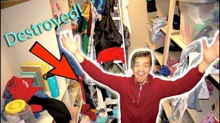 DESTROYING my Sisters room and gave it a New MAKEOVER!!