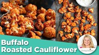 Buffalo Roasted Cauliflower  - Air Fryer Appetizer Recipe