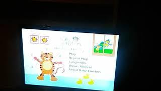 Baby Einstein numbers nursery 2004/2003 DVD menu walkthrough