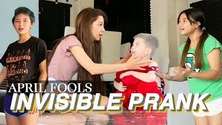 APRIL FOOLS DAY INVISIBLE PRANK ON MY LITTLE BROTHER
