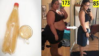 Shared with me ||  She lost 88 kg of weight with this super drink, no exercises, no diet