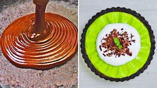 3 Surprisingly Easy Desserts | Best Chocolate Cake Recipes | Perfect Cake Decorating