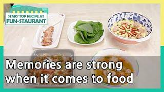 Memories are strong when it comes to food (Stars' Top Recipe at Fun-Staurant) | KBS WORLD TV 210608