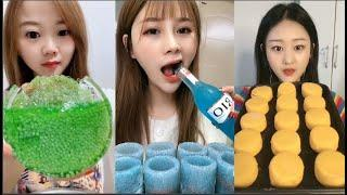 Eat ice cold ice food ASMR Relax eating sound #268