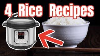 4 Instant Pot Rice Recipes | Step-by-Step Instant Pot Recipe