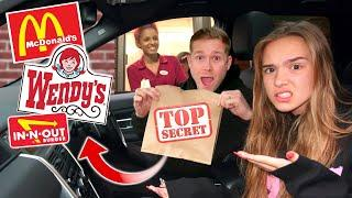 WE TRIED ORDERING SECRET MENU ITEMS! *IT ACTUALLY WORKED!!
