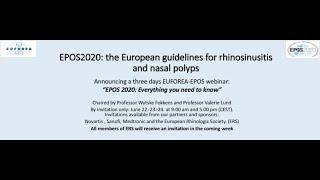 EPOS 2020-Euforea Webinar Session 2 (June 23, Morning)