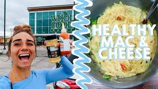 GROCERY SHOP WITH ME | + my healthy mac & cheese recipe!!!!!