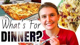 What's For Dinner? *6* EASY Budget Friendly MEALS! | Julia Pacheco