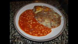 Lockdown Cottage pie with baked beans Traditional British recipe #chefstravels