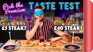 Blind Tasting PREMIUM Ingredients vs BUDGET Ingredients | Where Best to Spend Your Money? Ep. 2