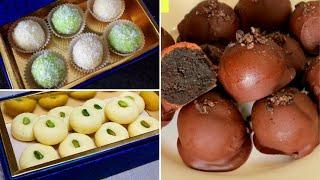 3 Quick Desserts In 10 Minutes - Quick Desserts For Dawat or Tea Time by (HUMA IN THE KITCHEN)