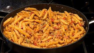 SAUSAGE and PASTA Recipe | Easy, Quick & Delicious ONE PAN MEAL