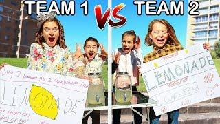 LEMONADE STORE THAT MAKES THE MOST MONEY WINS Challenge w/ The Norris Nuts