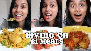 living on £1 meals | clickfortaz