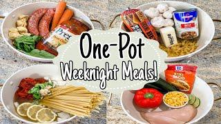 5 Cheap & Fancy One-Pot Recipes | The EASIEST One-Pan Meals! | Quick Dinner Ideas | Julia Pacheco