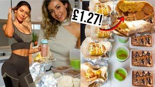 Healthy & Easy BREAKFAST Meal Prep UNDER £15 Budget *weight loss*