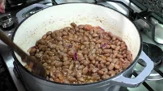 Stewed Pinto Beans - Easy Dinner Recipe