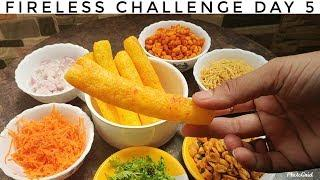 Fireless Cooking Challenge Recipes Day 5 || Boti Chat masala ||Karnataka Street Food Recipes||