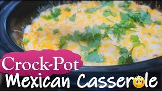 Crockpot mexican casserole (EASY) Recipe | Taco Tuesday | Homemade Healthy Delicious Dinner Ideas