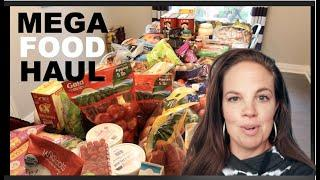 MEGA Grocery Haul OCTOBER!  Large Family, Once-A-Month Shopping, Healthy Food