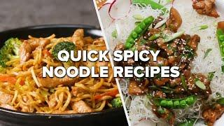 Quick Spicy Noodle Recipes • Tasty Recipes