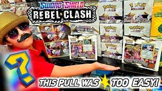 SWORD AND SHIELD REBEL CLASH LAUNCH PARTY!! OPENING NEW POKEMON CARDS BOOSTER PACKS! EPIC BATTLE!