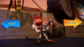 Crash Bandicoot 4: It's About Time - Hit The Road Crash And Don't You Come Back No Mo (PS4 Gameplay)