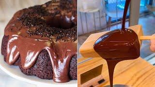 Easy, Yummy and Delicious Chocolate Recipes For Friends  | So Yummy Chocolate Cakes