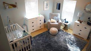 We're Finally Done With The Baby's Room! | Finished Nursery Tour Home Vlog