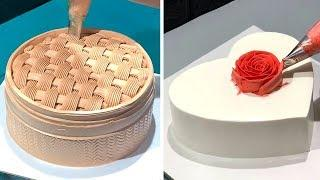 How to Make Cake Decorating for Perfect Party | Simple Chocolate Cake Recipes | So Yummy Cake Ideas