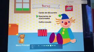 Baby Newton (France And Netherlands) Early 2004 DVD Menu WalkThrough