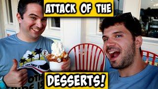 Food & Wine Episode 2: Attack of the Desserts! Chocolate Shake & More!