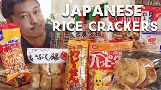 10 Types of Japanese Rice Crackers