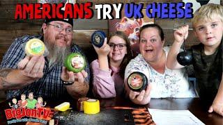 Americans Try More UK Cheese || Foreign Food Friday