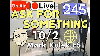 #245 Do You Mind? / Can I? | Mark Kulek LiveStream Lesson - ESL