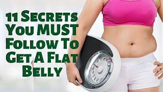 11 Secrets You MUST Follow To Get A Flat Belly | Keto die