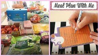 GROCERY HAULS & MEAL PLAN WITH ME