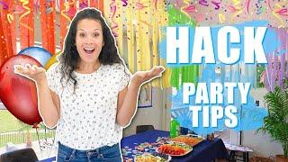 Easy Party PLANNING TIPS!