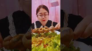 Seafood mukbang ASMR | Chinese Food ASMR | ASMR  Show Eating by #VshareKH [#08]