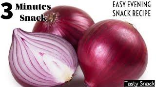 Quick Evening Snack Recipe | Very Tasty & Delicious Evening Snack | 3 Minutes Lock-down Recipe