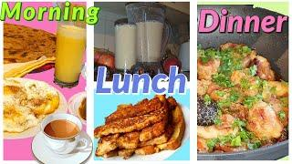 Daily Routine Plan Tasty Recipes | Breakfast to Dinner | Zahra Special Dishes