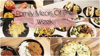 What's For Dinner?| MEALS OF THE WEEK | Family Meal Ideas | Meals On A Budget UK