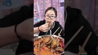 #Shots Video Seafood mukbang ASMR | Asian Food ASMR | ASMR  Show Eating by #VshareKH #191