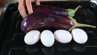 Cooking eggplant fried with egg recipe - Natural life TV