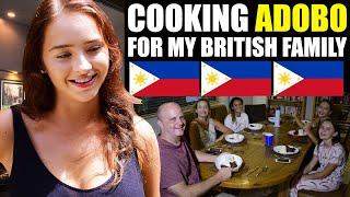 FOREIGNER COOKS ADOBO MANOK FOR HER BRITISH FAMILY - PARENTS LOVE IT