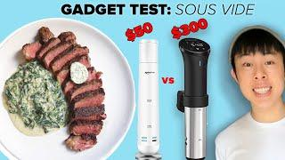 I Compared $50 and $300 Sous Vide Machines With Steak • Tasty