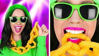 100+ WAYS TO SNEAK FOOD FROM ANYONE || Funny Food Tricks and Cool Life Hacks by 123 GO! FOOD