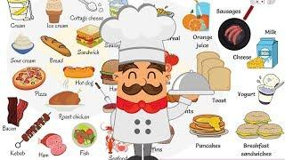 FOOD Vocabulary | Food Names | Types of Food in English with Pictures